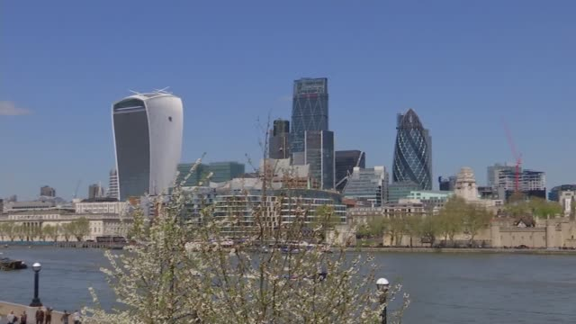 Sadiq Khan elected Mayor of London / Speculation over Labour divisions London Assembly building PAN city buildings seen across river Sadiq Khan...