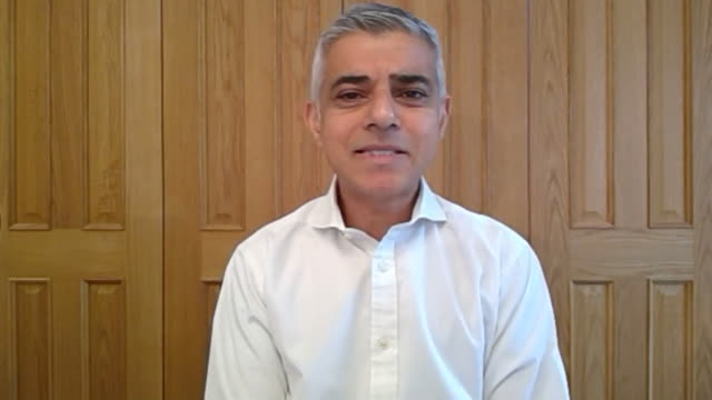 sadiq khan explaining why the delay in making face masks compulsory on public transport to combat the spread of coronavirus has made him angry - human face stock videos & royalty-free footage