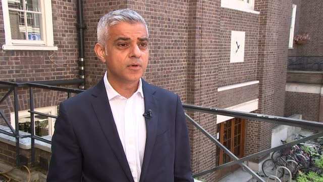 Sadiq Khan insists war against moped crime in London is being won ENGLAND London EXT Sadiq Khan interview SOT We've invested in specialist motorbikes...