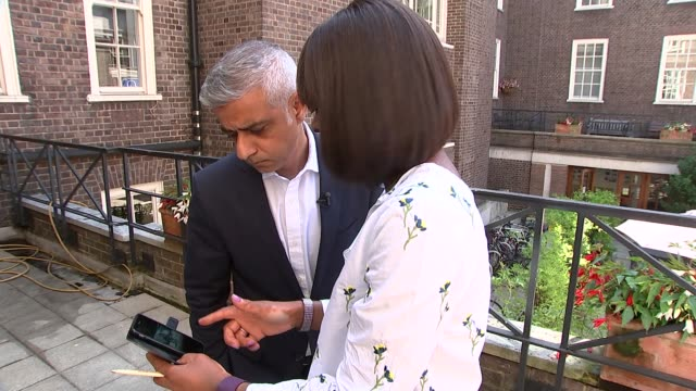 Sadiq Khan insists war against moped crime in London is being won ENGLAND London EXT Reporter showing Sadiq Khan footage of mopedenabled crime on...