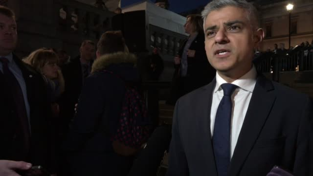 INTERVIEW Sadiq Khan on reassuring London is a safe city the work the police do the attack on Westminster at Candlelit Vigil Is Held For The Victims...