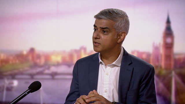 """sadiq khan saying """"one victim of violent crime in london is one too many"""" - party social event stock videos & royalty-free footage"""