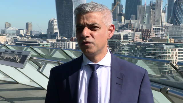 Sadiq Khan speaking about the Finsbury Park terror attack and advises people in the UK to remain calm but vigilant