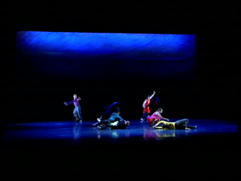 Reopening Dancers on stage Sadler's Wells theatre