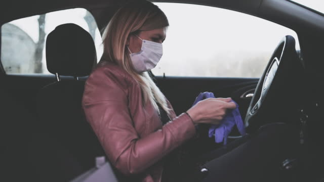 safe driving - protective glove stock videos & royalty-free footage