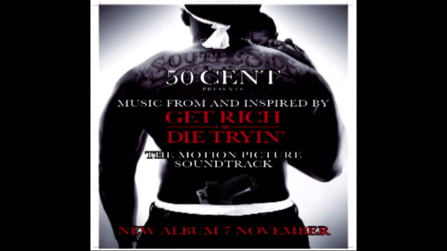 safe houses suggested for gang members' escape tx sequence showing poster for 50 cent soundtrack to film 'get rich or die trying' - fifty cent coin stock videos and b-roll footage