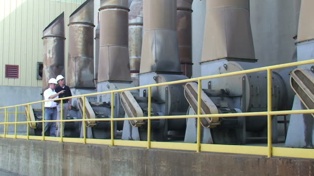 safety inspection - paper mill stock videos and b-roll footage