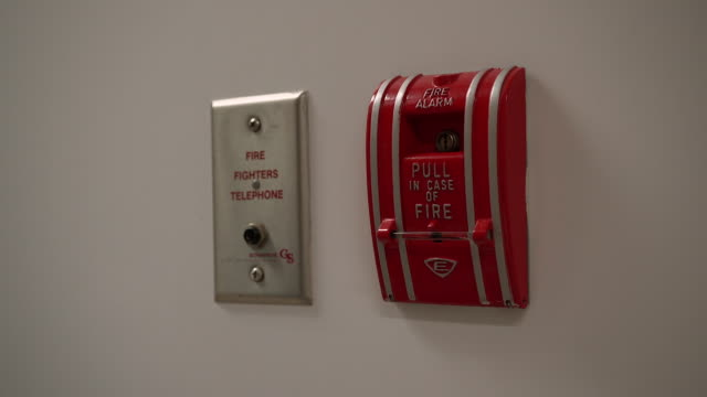safety - fire alarm stock videos & royalty-free footage