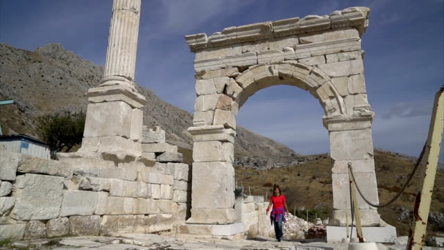 Sagalassos ancient city from Aglasun. Burdur, Turkey