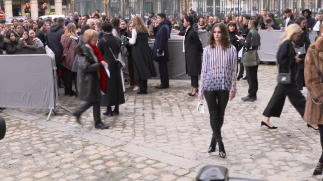 Outside Arrivals Paris Fashion Week Womenswear Fall/Winter 2016/2017Christian Dior show as part of the Paris Fashion Week Womenswear Fall/Winter...