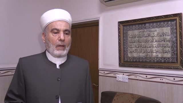 vídeos y material grabado en eventos de stock de said ahmad penjweny an iraqi cleric who represents the international union of muslim scholars in northern iraq's kurdish region has called on the... - accesorio financiero