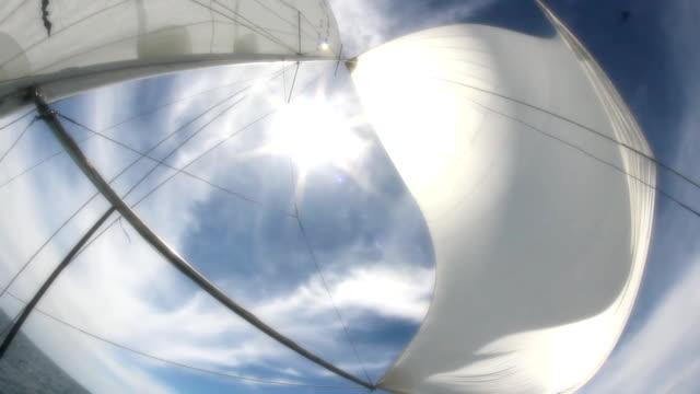 sail and sun - regatta stock videos & royalty-free footage