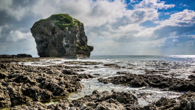 Segel Fels im Kenting Nationalen Park
