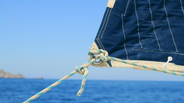 sailboat and sail - sail stock videos & royalty-free footage