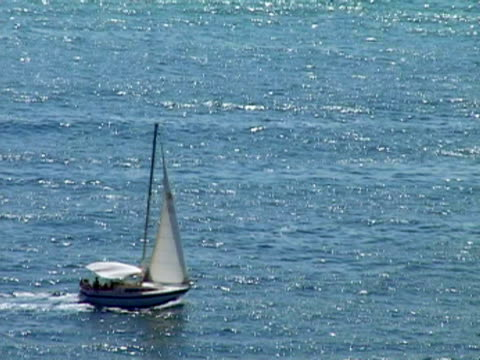 vidéos et rushes de ha, ms, sailboat in sea, ibiza, spain - moins de 10 secondes