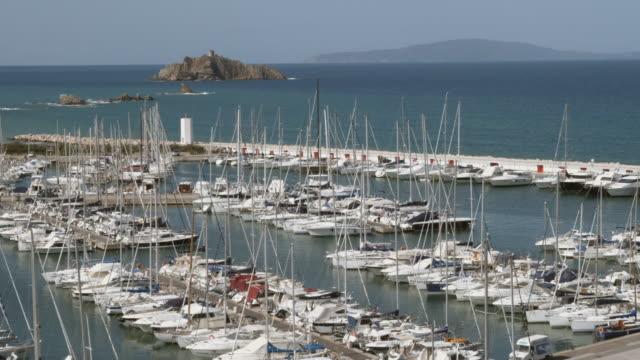 WS HA Sailboats in marina / Punta Ala, Italy
