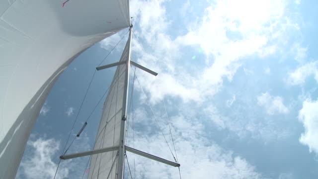 hd :帆船 - 大三角帆点の映像素材/bロール