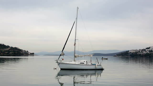 sailing boat - stationary stock videos & royalty-free footage