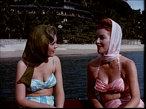 stockvideo's en b-roll-footage met 1963 sailing in acapulco - 1963