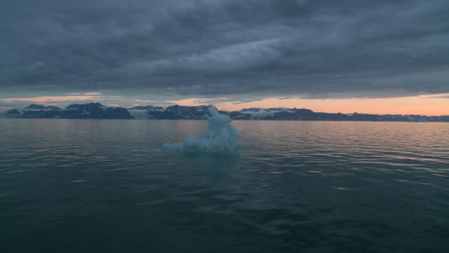 sailing in iceberg landscape greenland - cruising stock videos & royalty-free footage