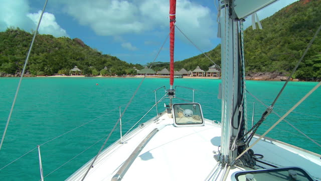 hd: sailing in seychelles - seychelles stock videos & royalty-free footage