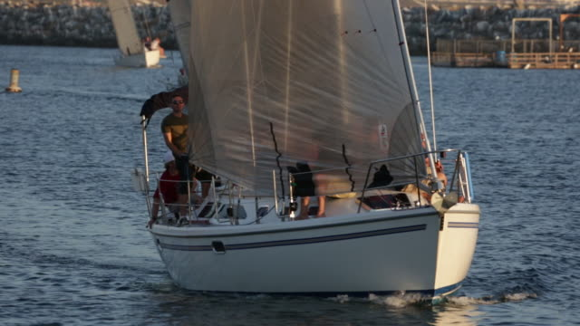 Sailing King Harbor Redondo Beach California