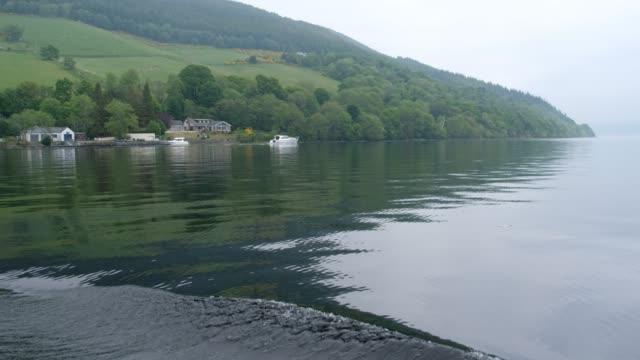 sailing loch ness lake - scottish highlands stock videos & royalty-free footage