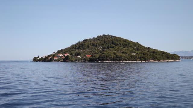 Sailing near Kukljica, Ugljan island, Kornati National Park