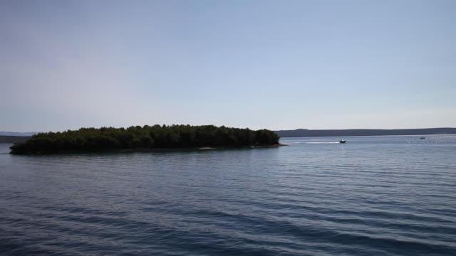 Sailing near Pasman island, Kornati National Park