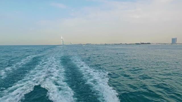 Sailing near the Burj Al Arab in Dubai