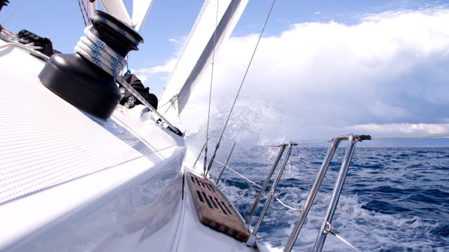 SLO MO Sailing On The Ocean