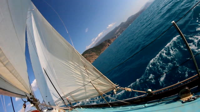 sailing race - rigging nautical stock videos & royalty-free footage
