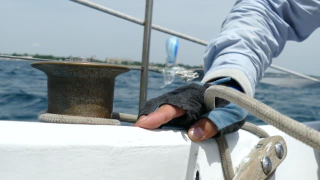 vidéos et rushes de régate - voile de bateau