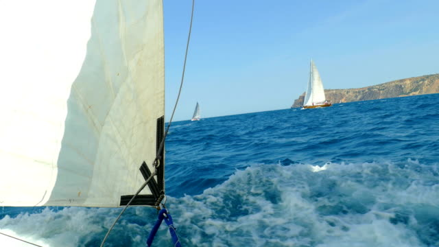 sailing races - sailing stock videos & royalty-free footage