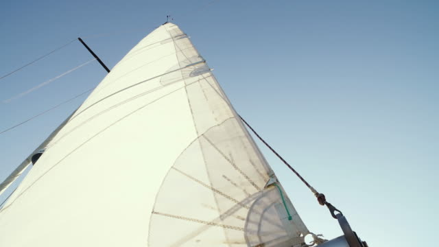 sailing ship during summer holidays - sail stock videos and b-roll footage