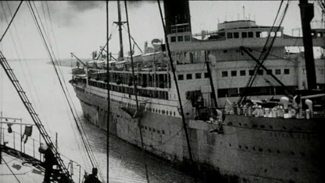 1925 sailing the suez canal - suez canal stock videos & royalty-free footage