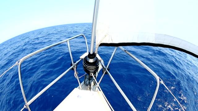 HD: Sailing with sailboat