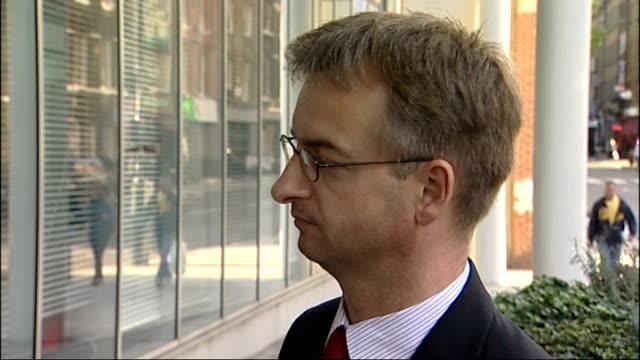 sainsbury's taken to court over packaging richard dodd interview sot - richard sainsbury stock videos & royalty-free footage