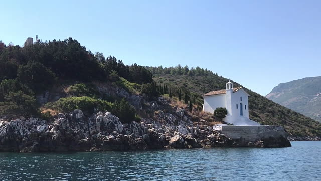 Saint Andrew chapel at Ithaca Greece