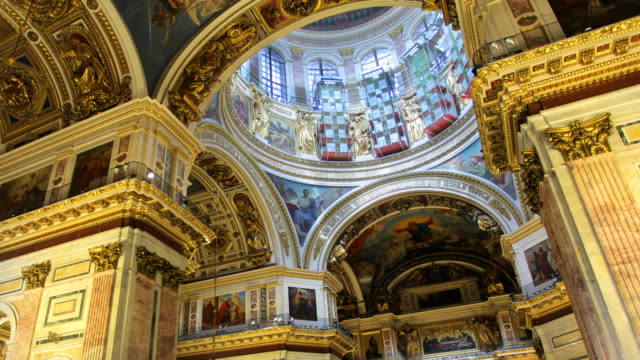 T/L LA ZO Saint Isaac's Cathedral interior