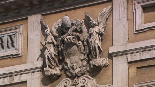 saint mary major basilica, rome - römische zahl stock-videos und b-roll-filmmaterial
