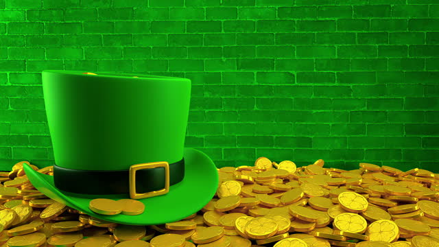 saint patrick's day - 4k resolution - st. patrick's day stock videos & royalty-free footage