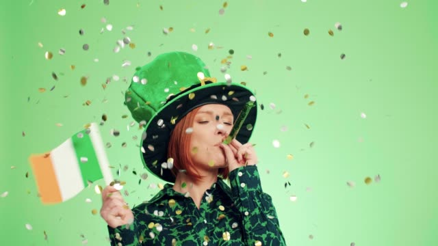 saint patrick's day, debica, poland - st. patrick's day stock videos & royalty-free footage