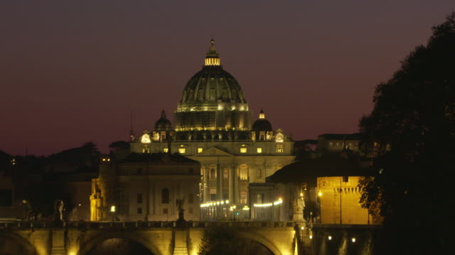 saint peter's basilica - state of the vatican city stock videos & royalty-free footage
