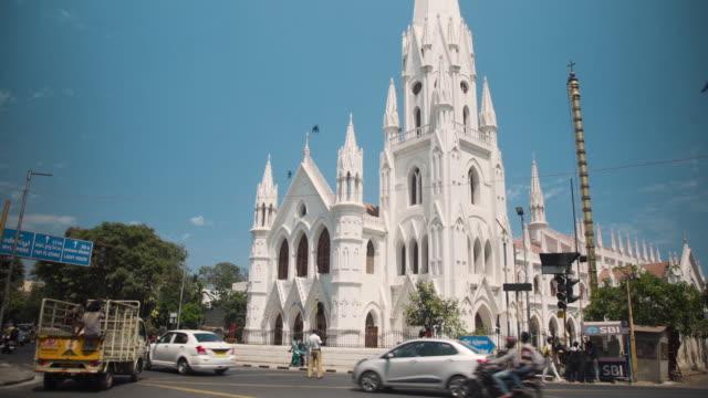 Saint Thomas catholic church at Chennai, Tamil Nadu, India