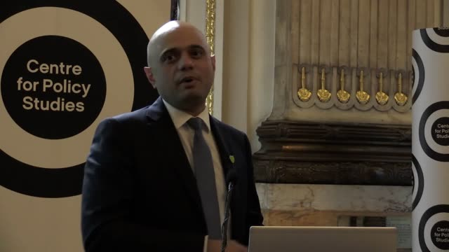 sajid javid dominic raab and matt hancock speak at the britain beyond brexit event with george freeman the deadline to officially enter the... - sajid javid stock videos & royalty-free footage