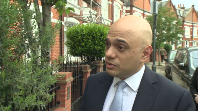 sajid javid saying every conservative leadership candidate will have to put forward their plans for brexit and he will put his forward in the coming... - home secretary stock videos & royalty-free footage