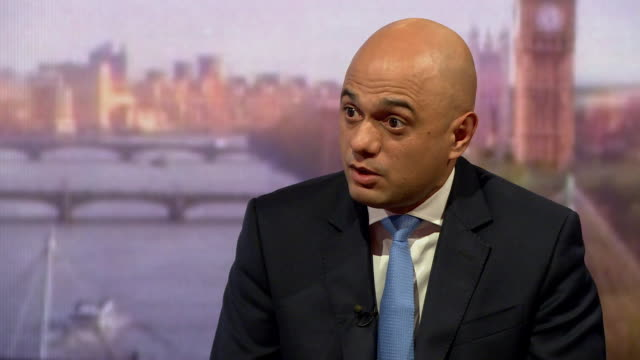sajid javid saying he wants to look at every resource available to tackle the housing crisis - sajid javid stock videos & royalty-free footage