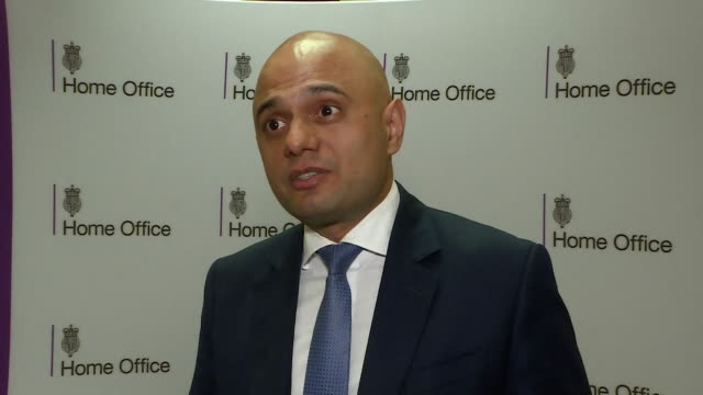 sajid javid saying his most urgent task as the new home secretary will be ensuring the windrush generation are treated with the decency and the... - deportation stock videos & royalty-free footage