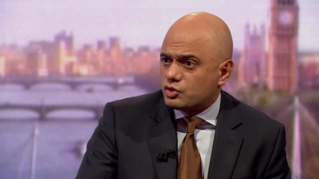 sajid javid saying russia is a large and powerful nation but britain working alongside its allies has considerable capabilities ourselves - teamwork stock videos & royalty-free footage